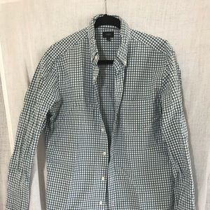 J Crew Slim Fit Button Down Shirt Size M